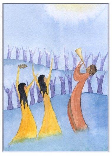 Le Seigneur regarde les justes, il écoute, attentif à leurs cris.