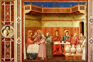 Les noces de Cana - Giotto