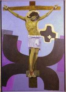 Arcabas - La Croix