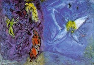 Chagall, Le rêve de Jacob