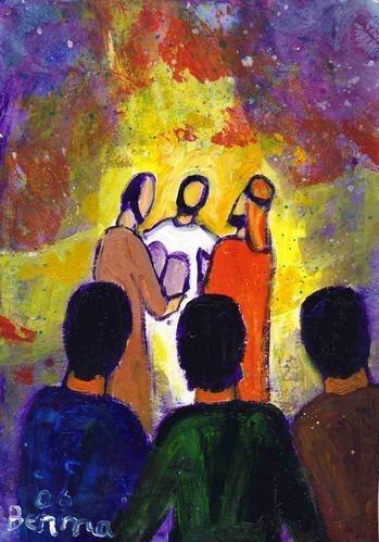 Michel blogue avec Irène/sujet/le discernement est inclus dans Son Amour. Transfiguration