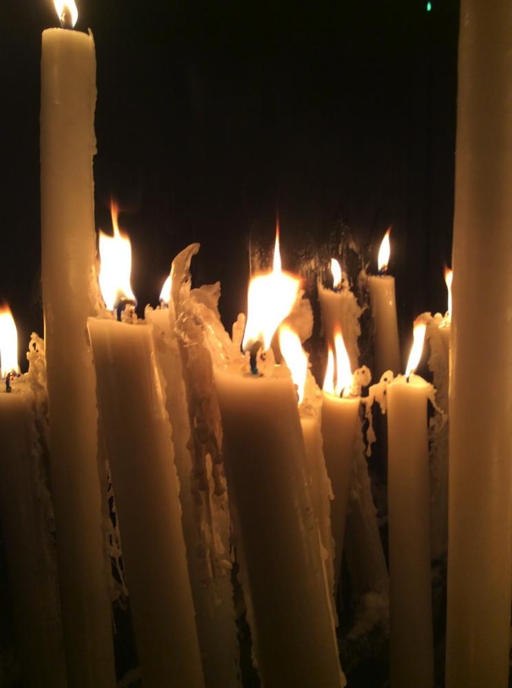 Cierge Lourdes