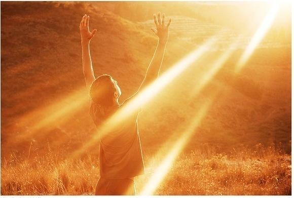 prier Dieu Lumiere dans nos vie