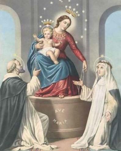 Apparition-de-Notre-Dame-du-Rosaire-à-Pompéi-avec-saint-Dominique-et-sainte-Catherine-de-Sienne-1884-396x493