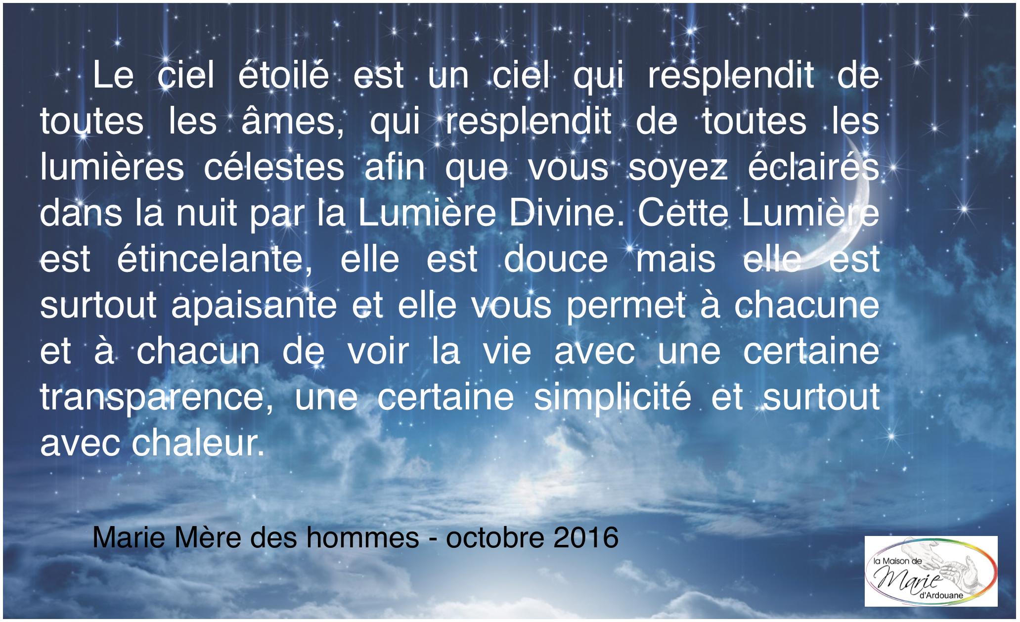 BONNE SOIRÉE & BELLE NUIT A TOUT LE MONDE CitationMMDH102016