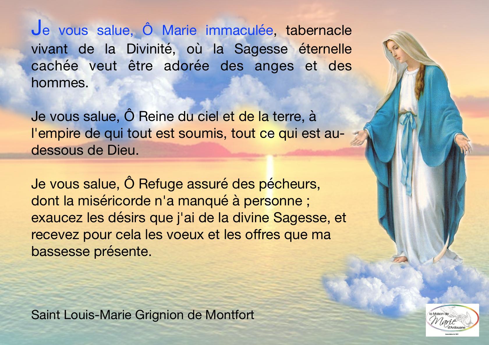 Priere Marie