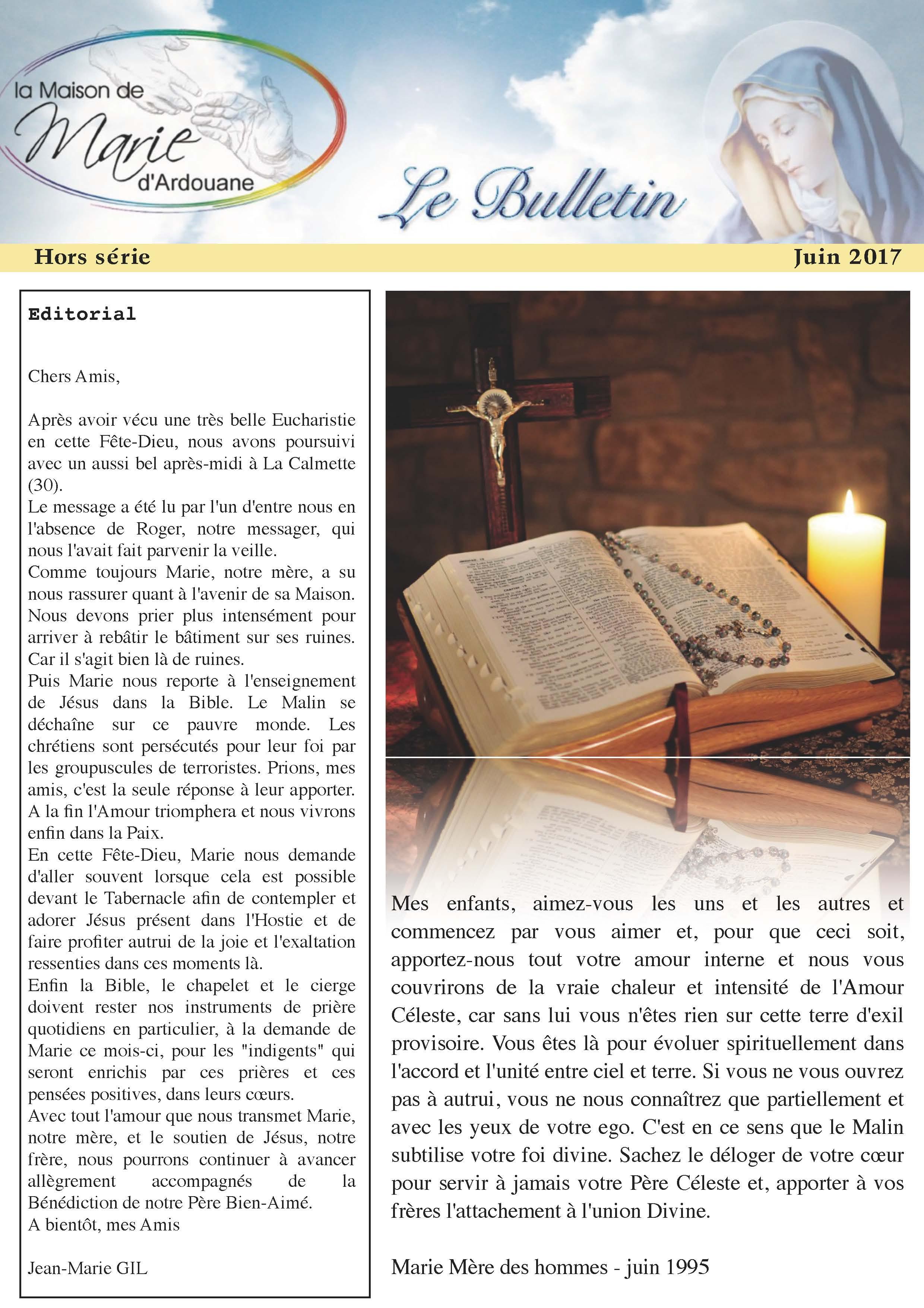Télécharger le bulletin au format PDF